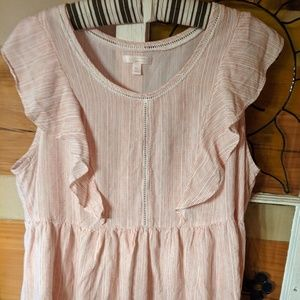 Lauren Conrad XL ruffle top